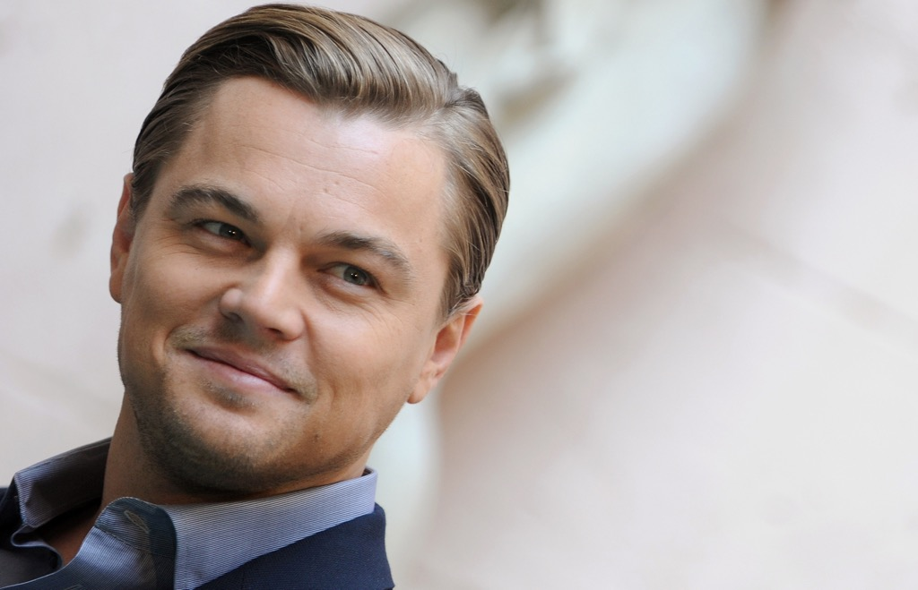US actor Leonardo DiCaprio poses during a photocall of Shutter Island on February 8, 2010 in Rome. Shutter Island is the fourth collaboration between US director Martin Scorsese and his favorite actor Leonardo DiCaprio. AFP PHOTO / TIZIANA FABI        (Photo credit should read TIZIANA FABI/AFP/GettyImages)